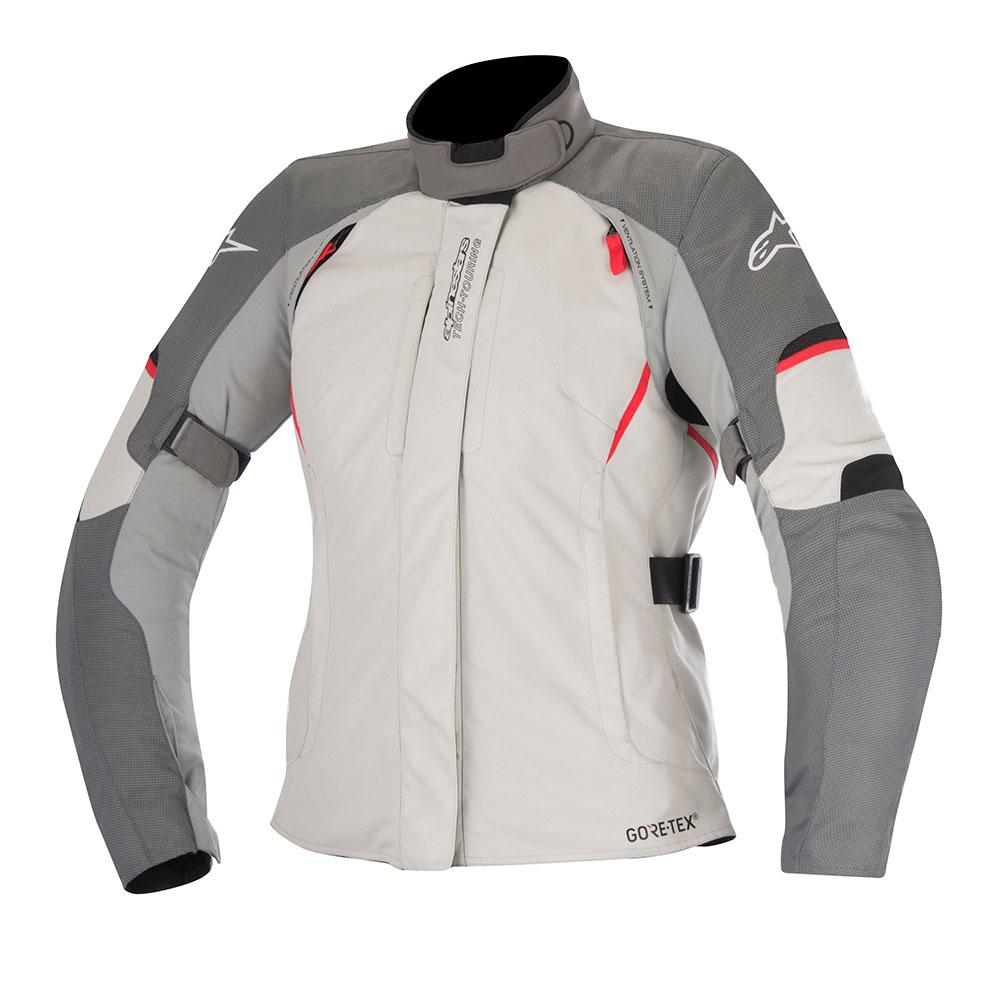 Alpinestars Stella Ares Gore-Tex Jacket Grey Red