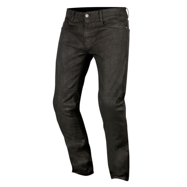 Alpinestars Double Bass Denim Pants Greaser Black