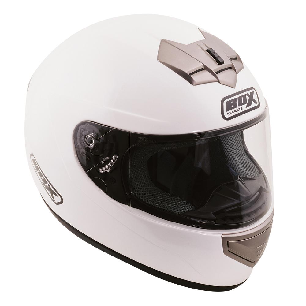 Box BX-1 Full Face Helmet White