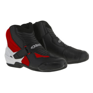 Alpinestars SMX-1 R Boots Black White Red