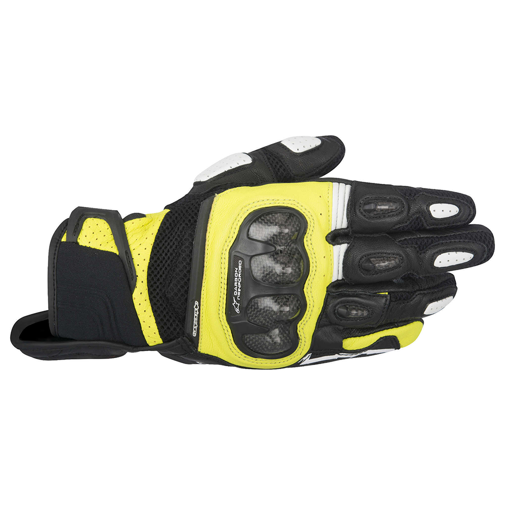 Alpinestars SP-X Air Carbon Gloves Black Yellow
