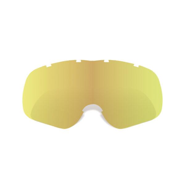Oxford Assault Pro Tear-Off Ready Gold Tint Lens