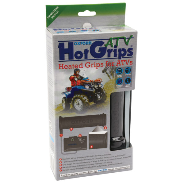 Oxford HotGrips ATV EXPORT ONLY bar mount