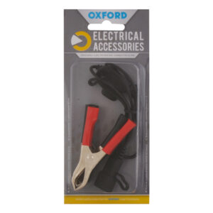 Oxford Crocodile clips to USA/SAE connector 0.5mtr lead