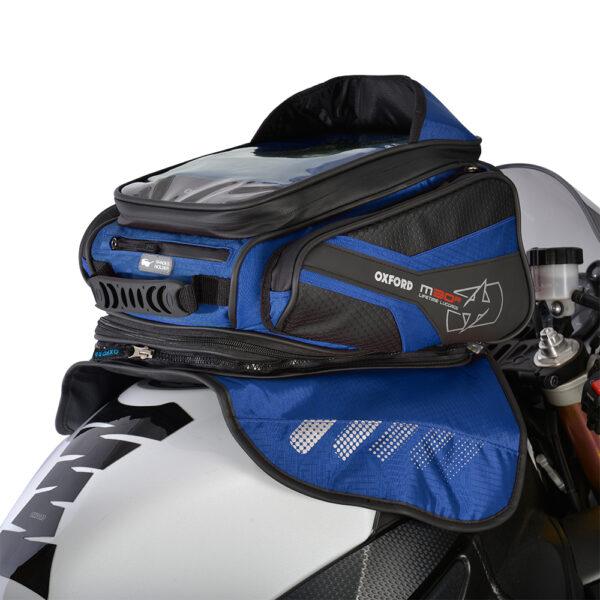 Oxford M30R TANK BAG - BLUE