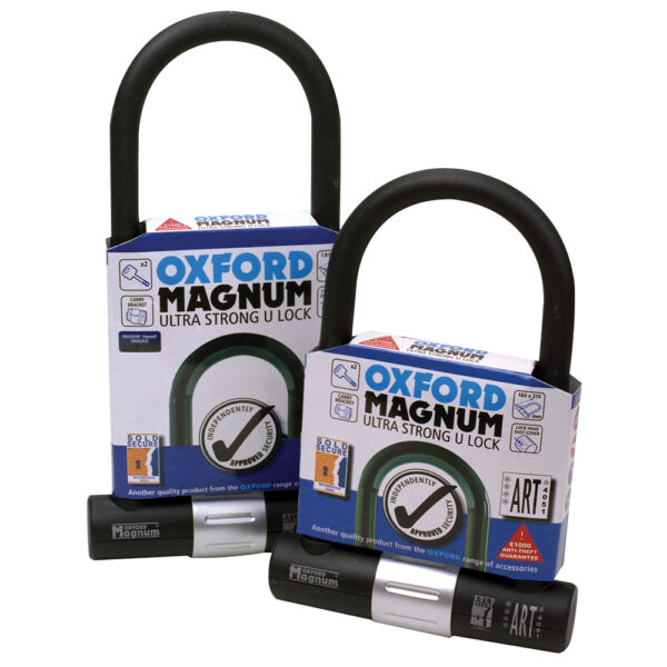 Oxford Magnum U-lock 170x285mm with bracket