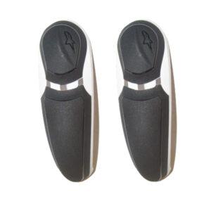 Alpinestars S-MX Plus Toe Slider WH/BLK