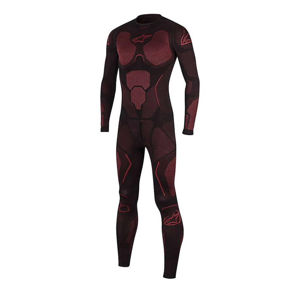 Alpinestars Ride Tech Summer 1 Piece Suit Black  Red