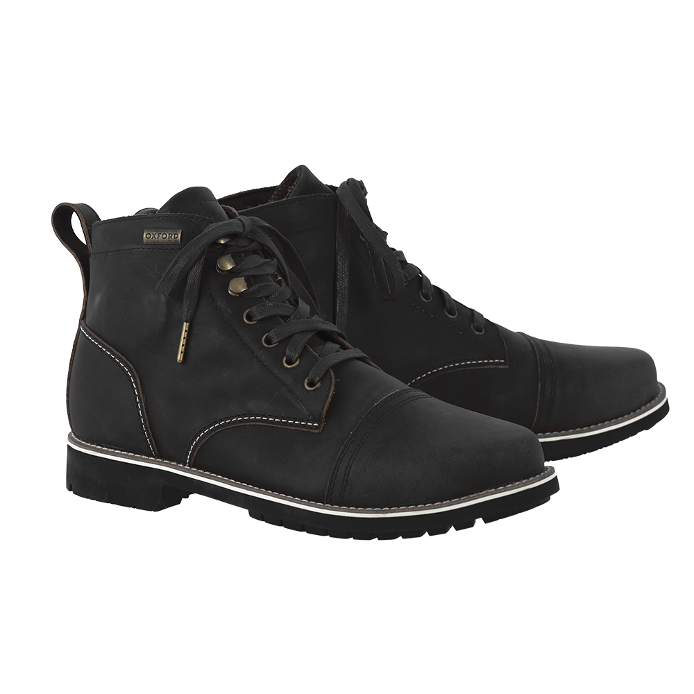 Oxford Digby Short Boots Black