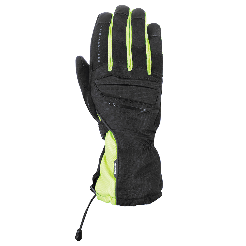 Oxford Convoy Gloves Stealth Black  Fluo