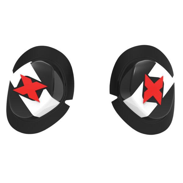 Oxford Knee sliders - Icon black