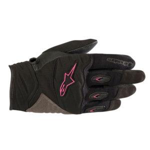 Alpinestars Stella Shore Gloves Black  Fuchsia