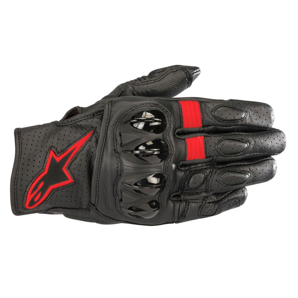 Alpinestars Celer v2 Gloves Black Red  Fluo
