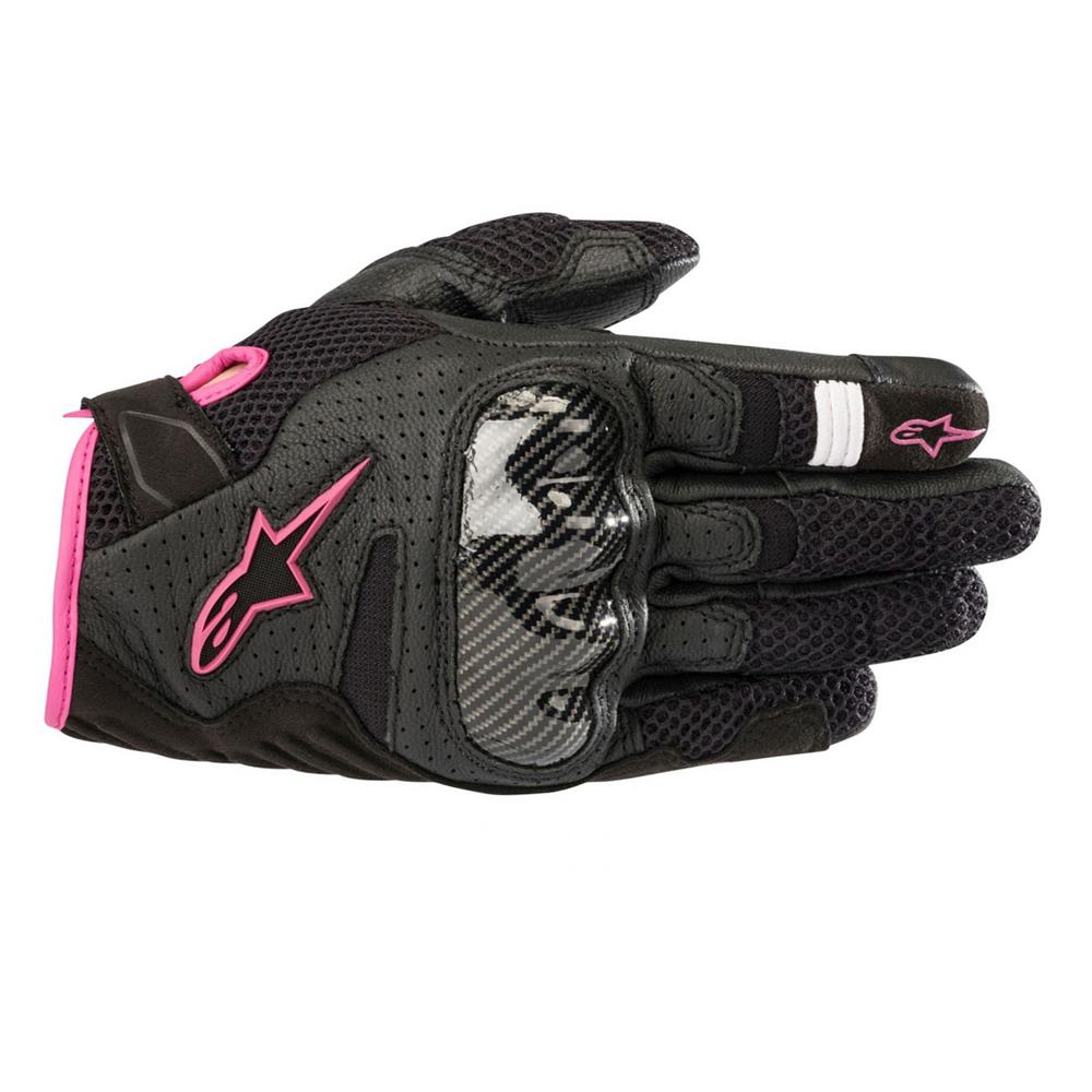 Alpinestars Stella SMX-1 Air v2 Gloves Black  Fuchsia