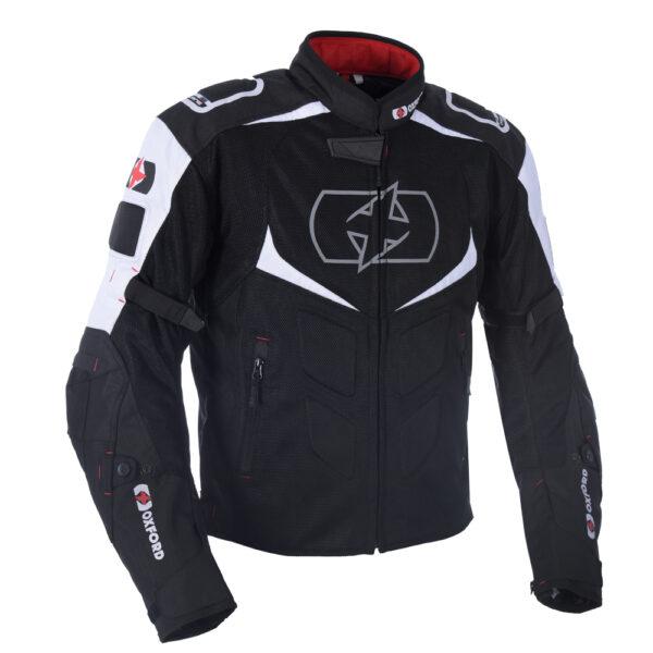 Oxford Melbourne Air 2.0 Jacket Black & White