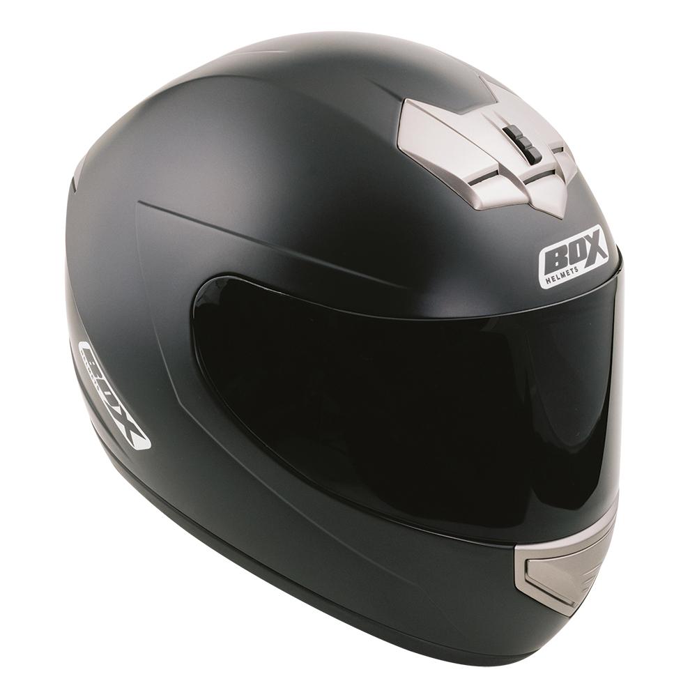 Box BX-1 Full Face Helmet Matt Black