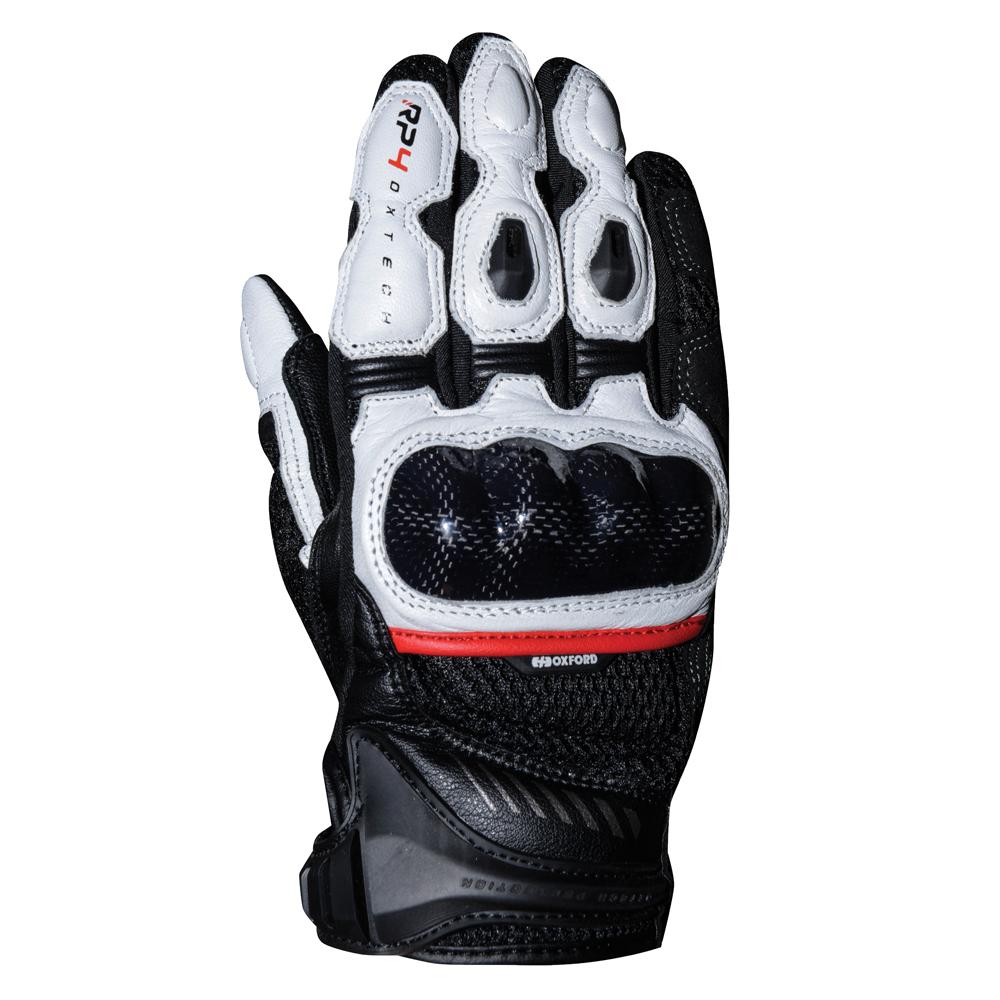 Oxford RP-4  Sports Short Gloves Black  White