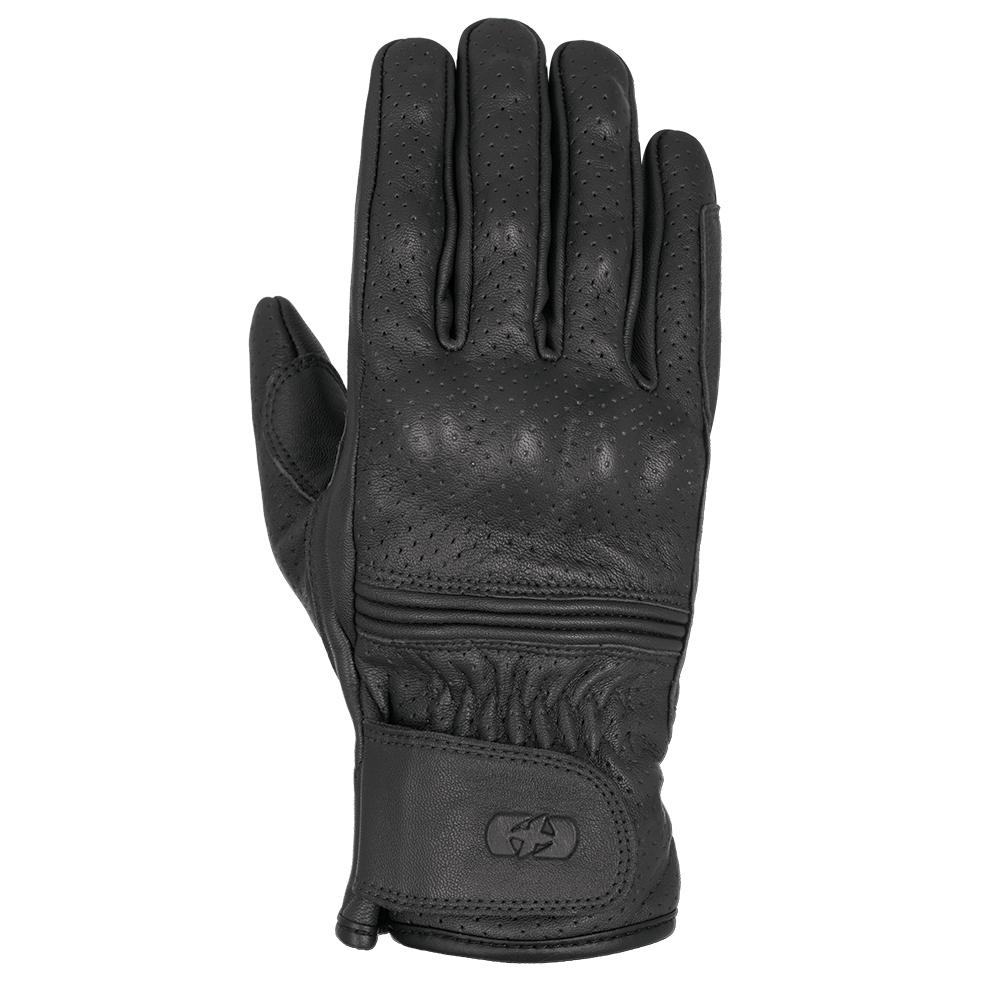 Oxford Holbeach Short Leather Gloves Black