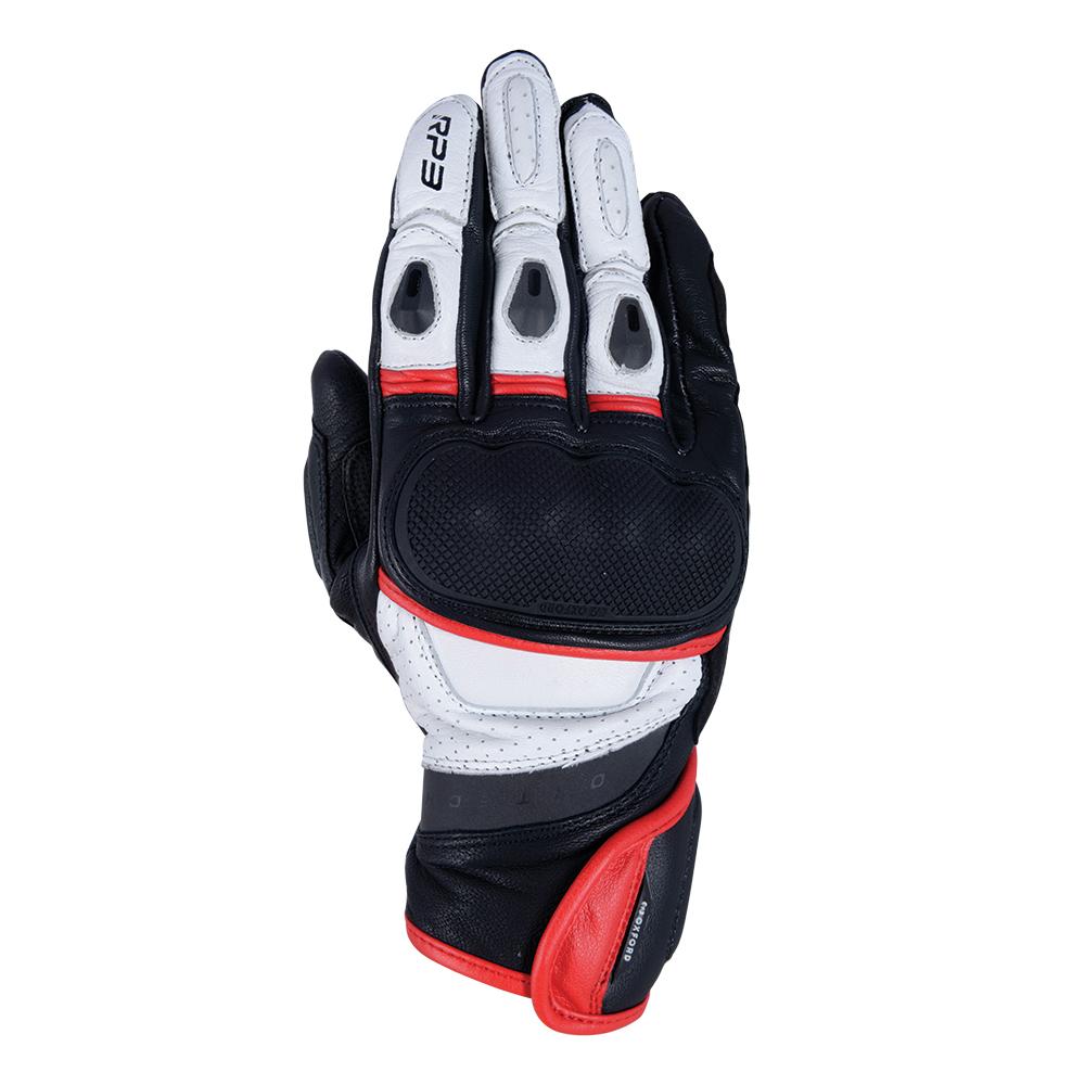 Oxford RP-3 2.0 Short Sports Gloves Black White  Red