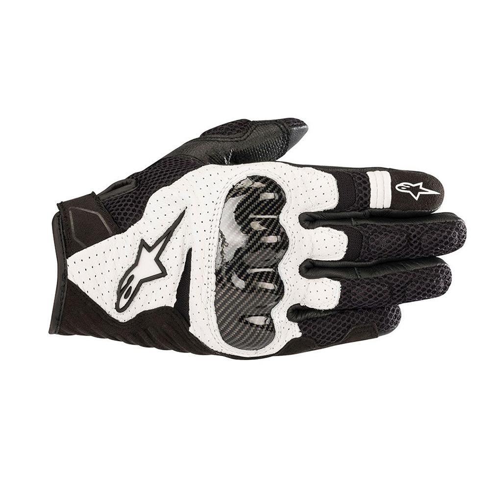 Alpinestars SMX-1 Air v2 Gloves Black  White