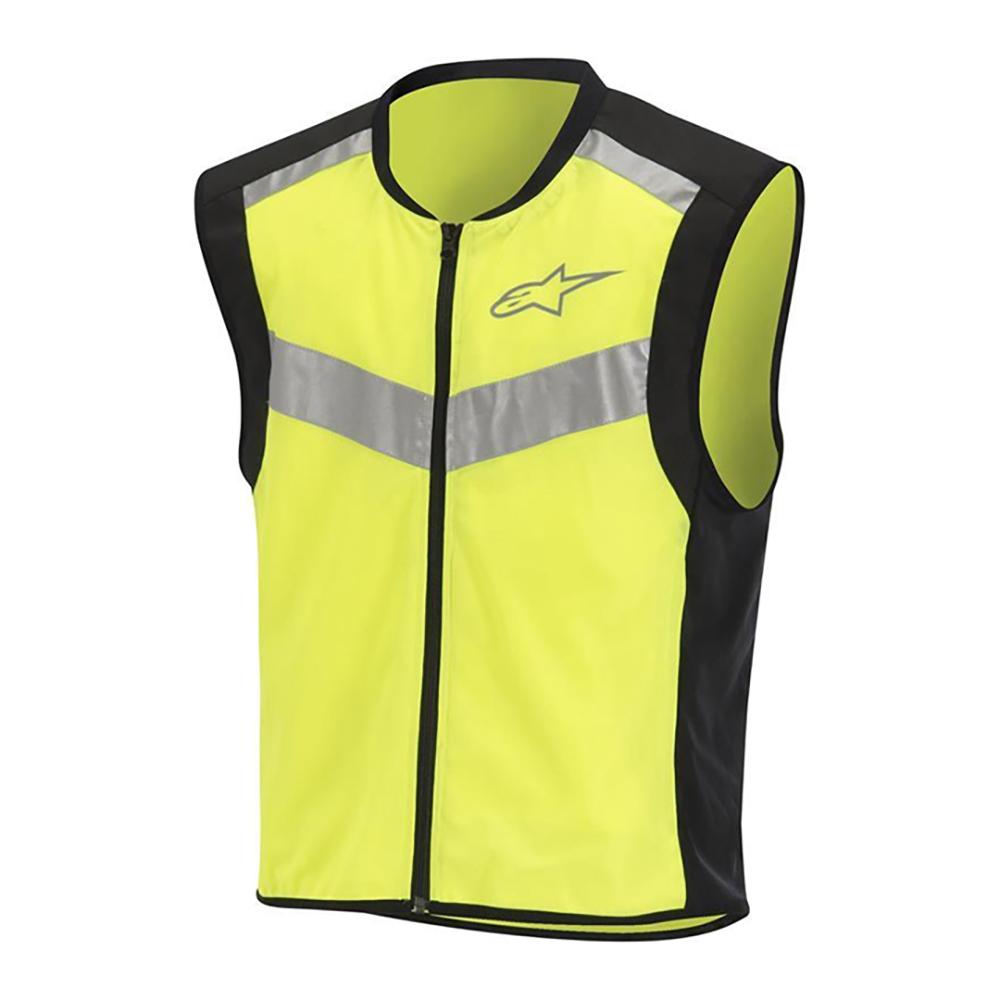Alpinestars Flare Neon Vest Black  Yellow Fluo