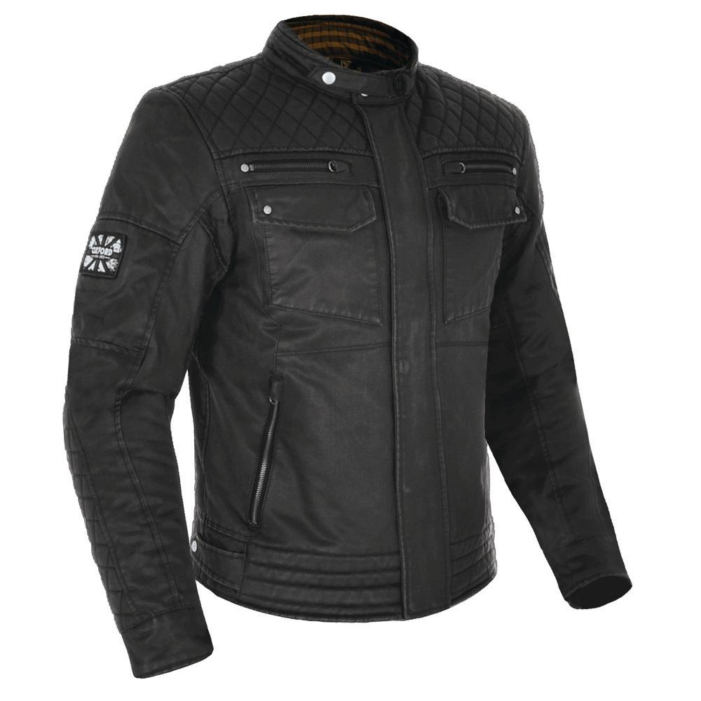 Oxford Hardy Wax Jacket Black