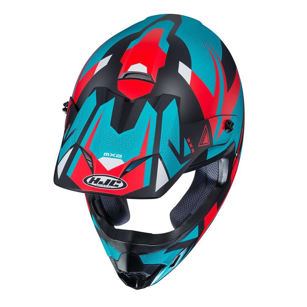 HJC CS-MX Madax Red White  Blue