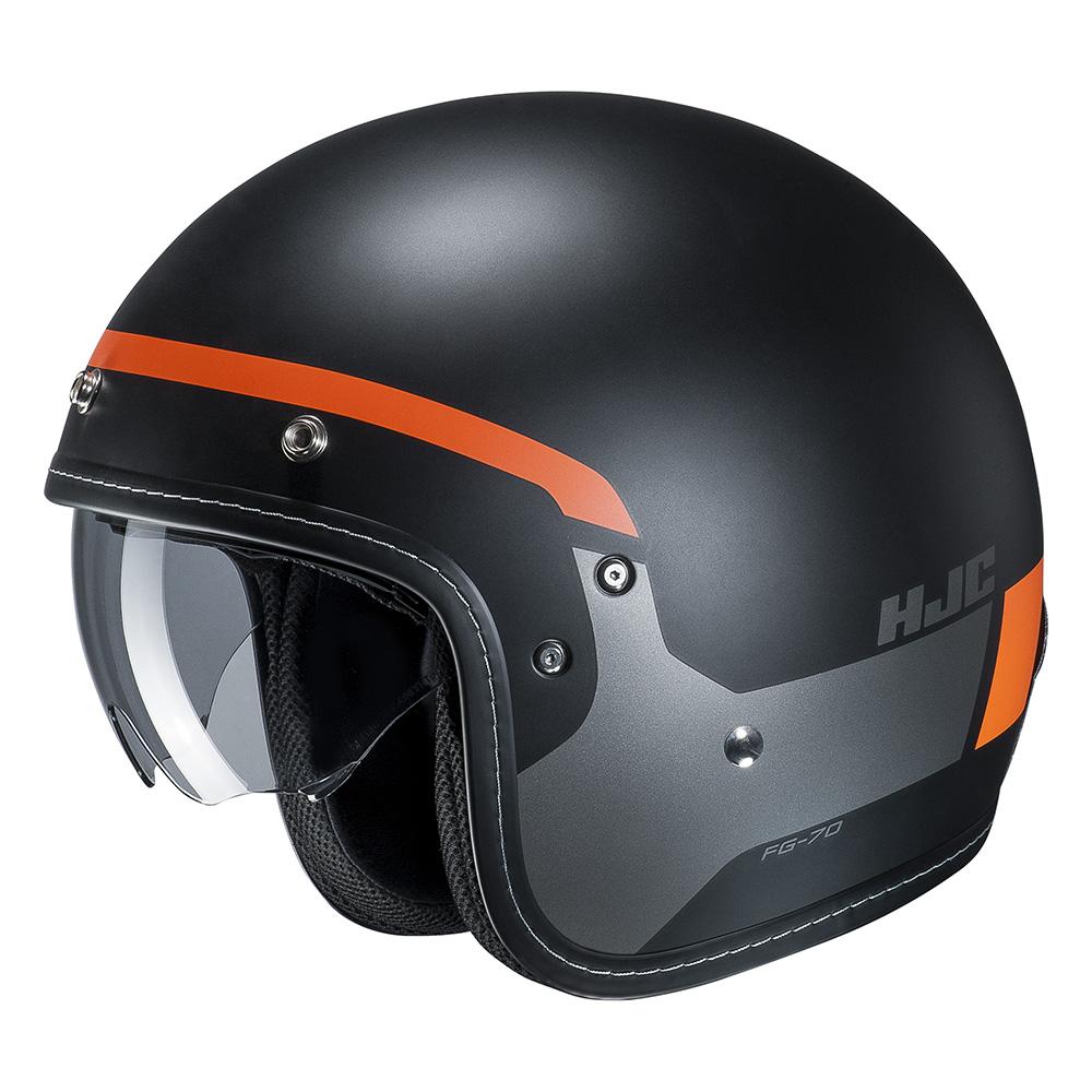 HJC FG-70s Modik Orange  Black