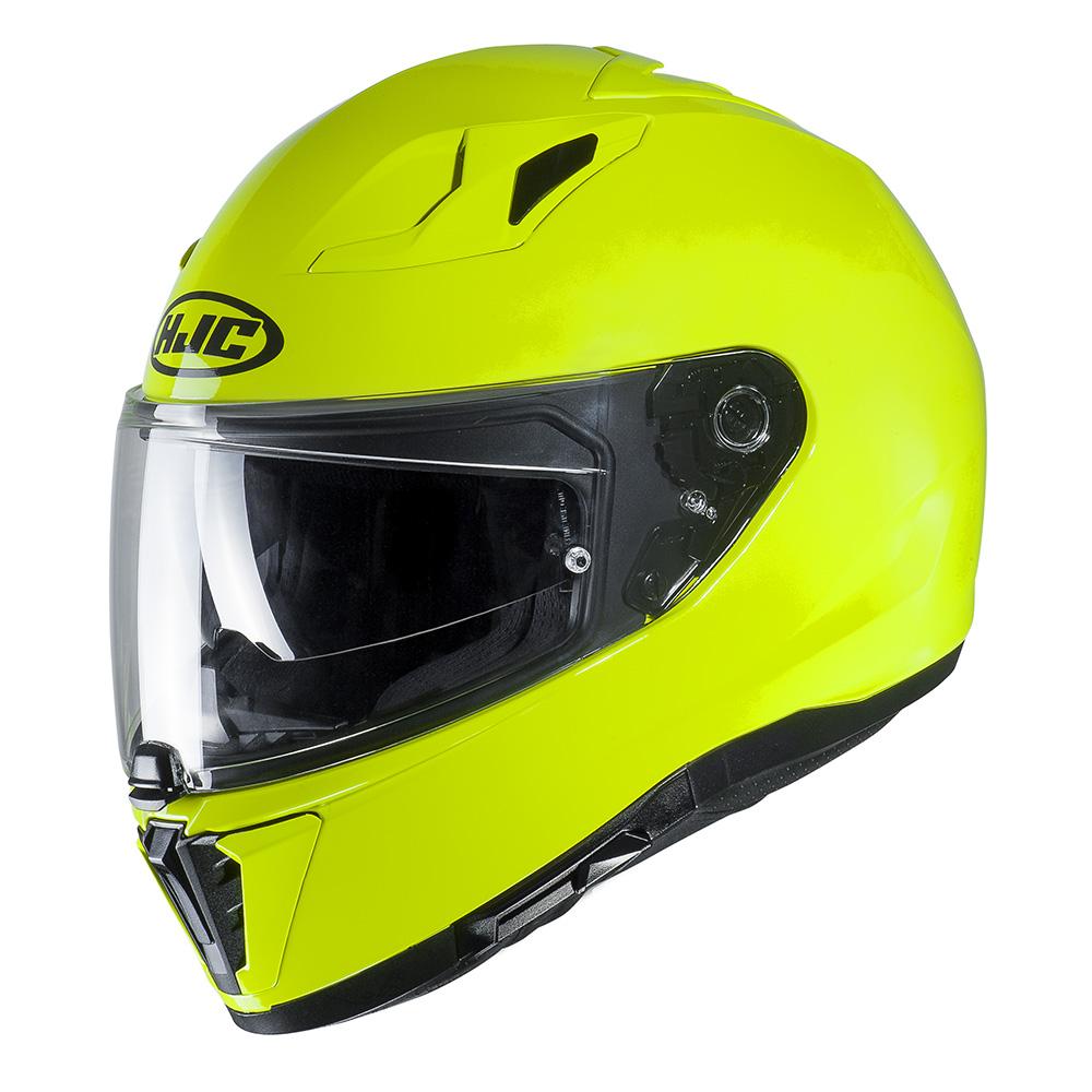 HJC I70 Fluo Yellow