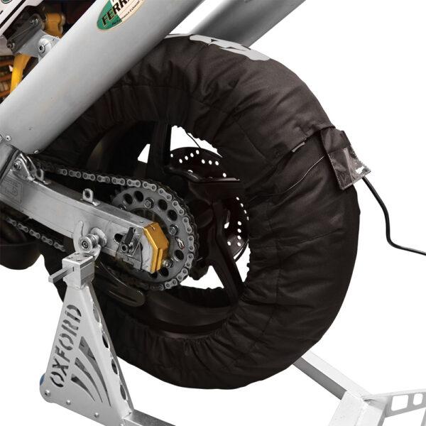 Oxford Tyre Warmers LCD 3 Setting EU 2 PIN PLUG Pair