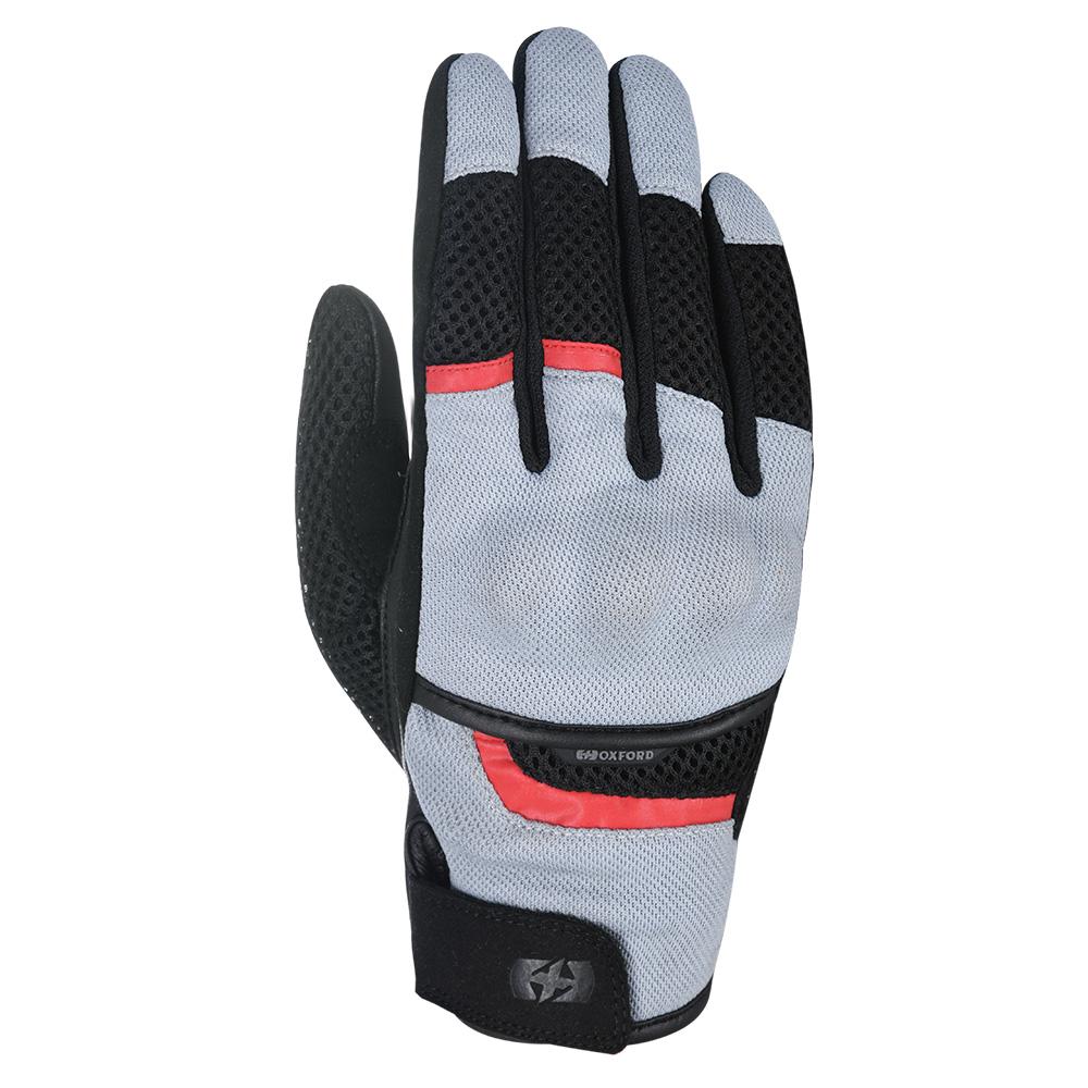 Oxford Brisbane Air Glove Tech Grey  Black