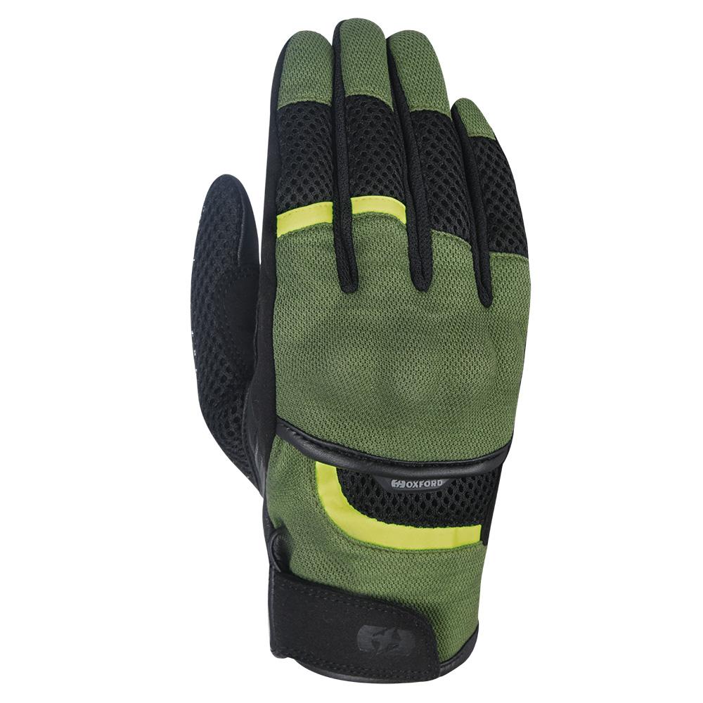 Oxford Brisbane Air Glove Green  Black