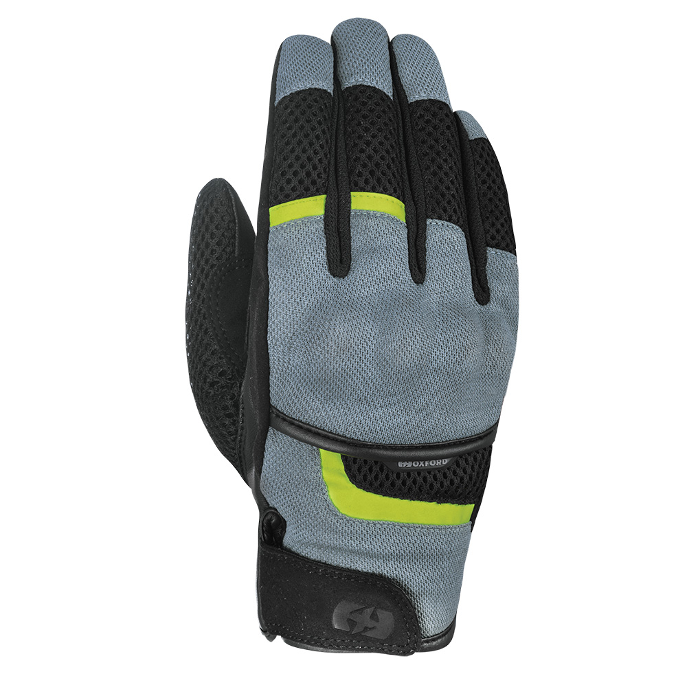 Oxford Brisbane Air Glove Charcoal  Black