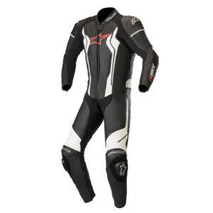 Alpinestars GP Force 1 Piece Leather Suit Black  White