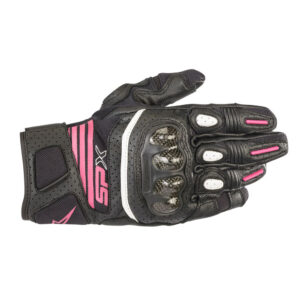 Alpinestars SP X Air Carbon v2 Gloves Black  Fuchsia