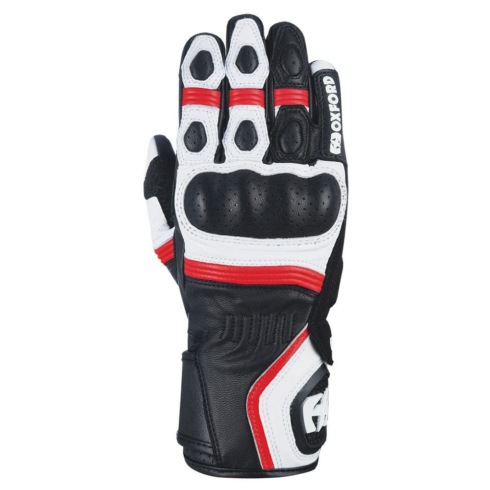 Oxford RP-5 2.0 Glove White Black  Red