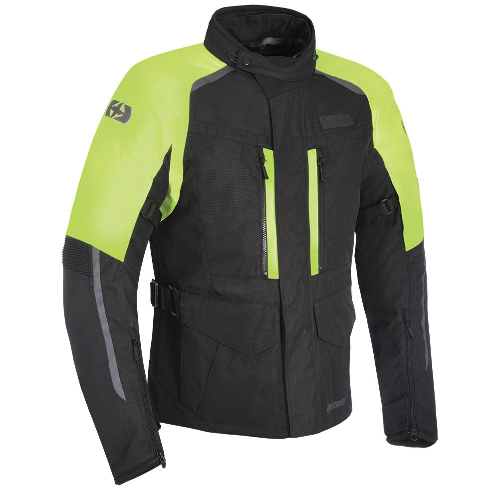 Oxford Continental Advanced Jacket Black Fluo