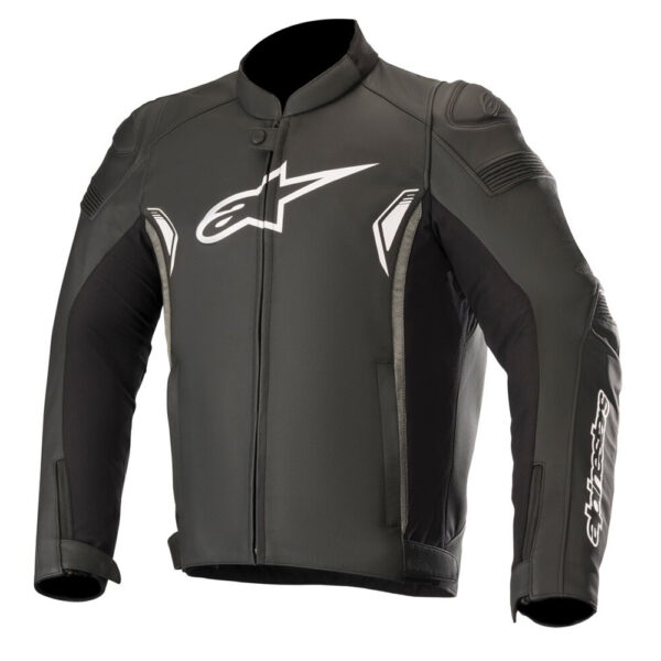 Alpinestars SP-1 v2 Leather Jacket Black  Dark Grey