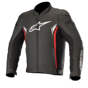 Alpinestars SP-1 v2 Leather Jacket Black  Bright Red