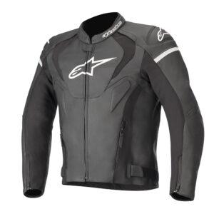Alpinestars Jaws v3 Leather Jacket Black