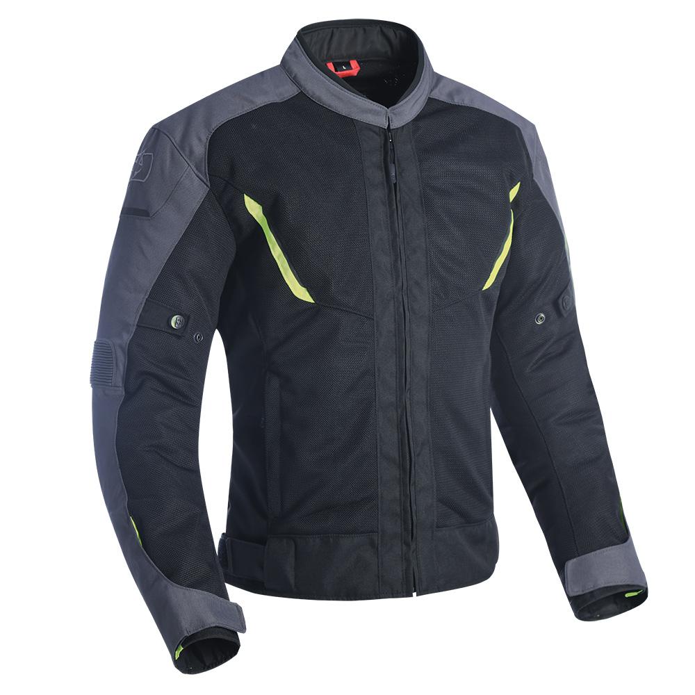 Oxford Delta 1.0 Air Jacket Black Grey  Fluo