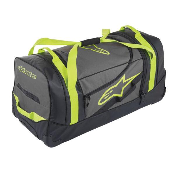 Alpinestars Komodo Travel Bag Black Anthracite Yellow Fluo
