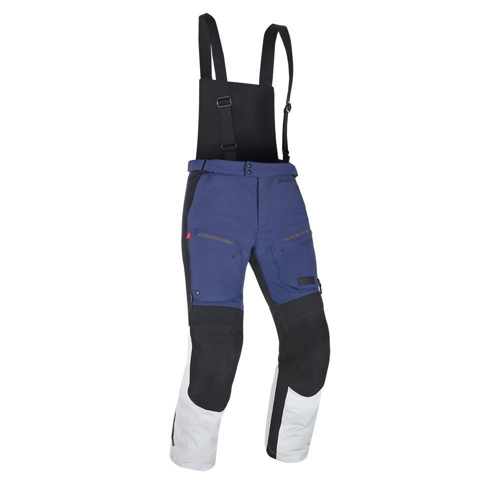 Oxford Mondial Advanced Pants Regular Leg Grey Blue  Red