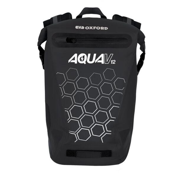 Oxford Aqua V 12 Backpack Black