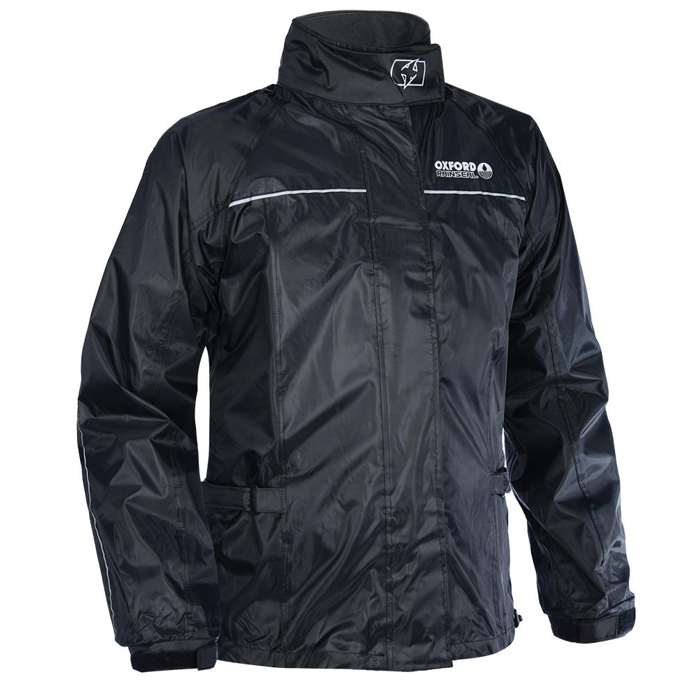 Oxford Rainseal Over Jacket Black