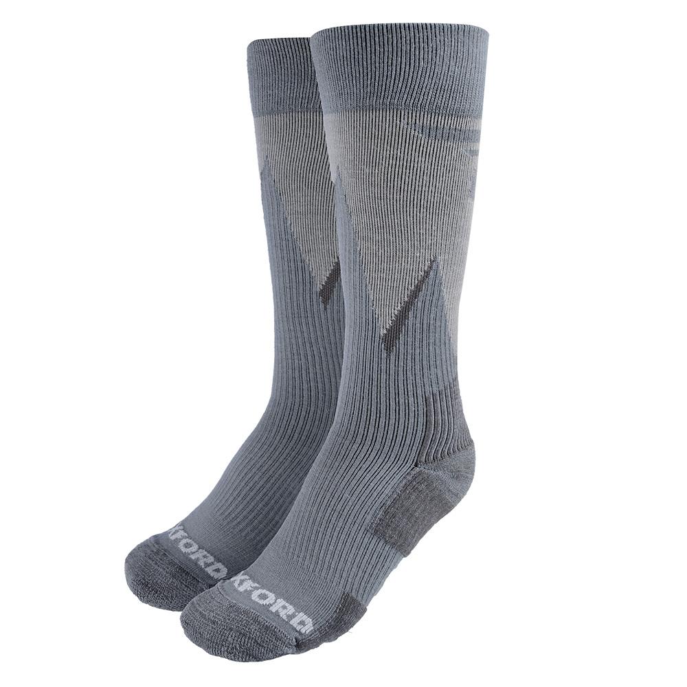 Oxford Merino Oxsocks Grey