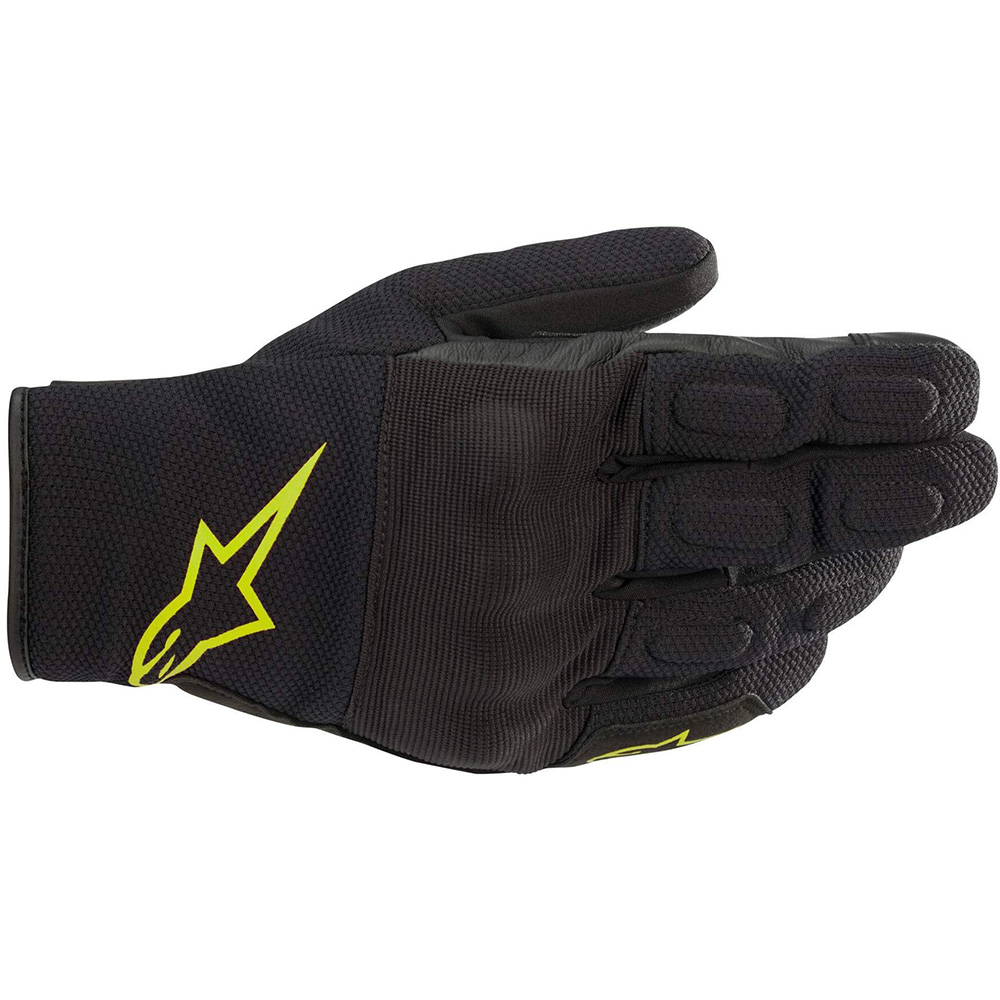 Alpinestars S Max Drystar Gloves Black  Yellow Fluo