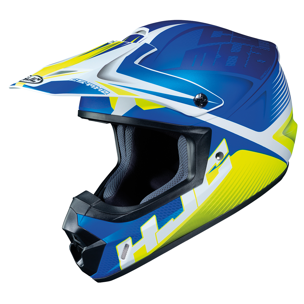 HJC CS-MX II Ellusion MC2SF Blue