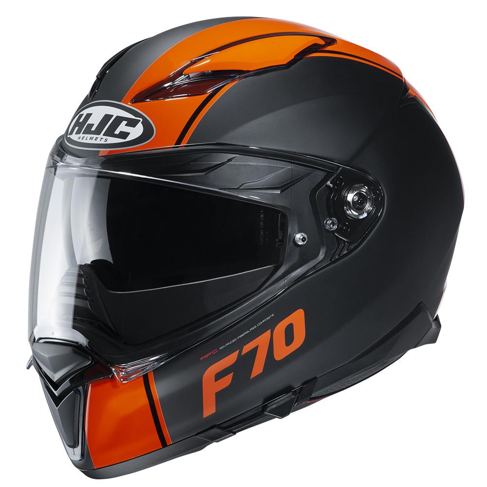 HJC F70 Mago MC7SF Orange