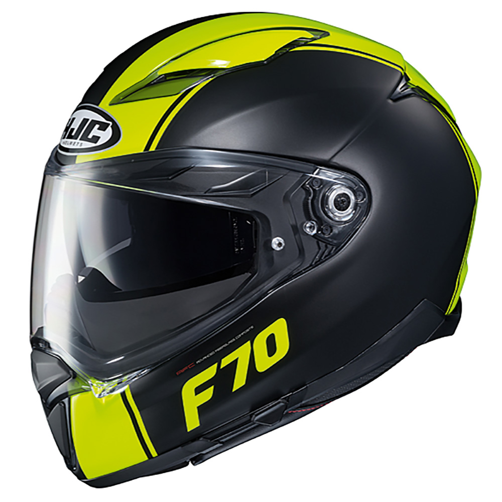 HJC F70 Mago MC4HSF Fluo